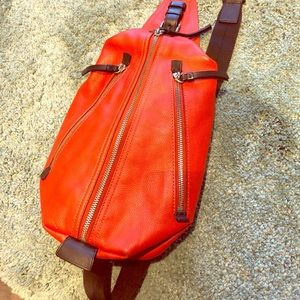 Coach leather bag universal